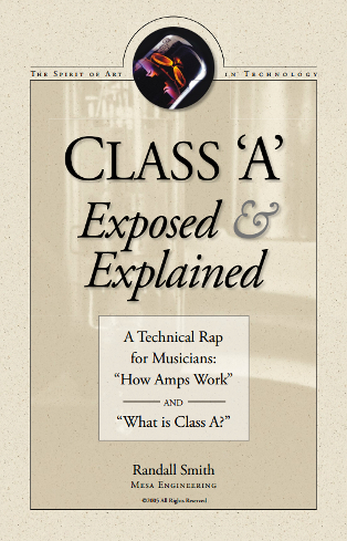 What is Class A and how does it differ from Class AB? – MESA
